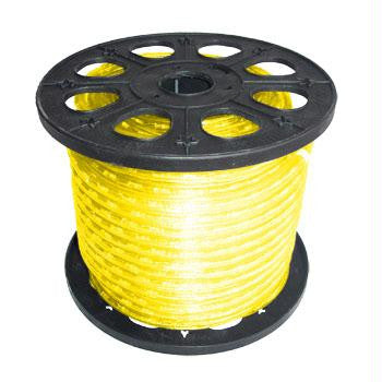 "150' 2-Wire 12-Volt 3-8"" Yellow Rope Light Spool"