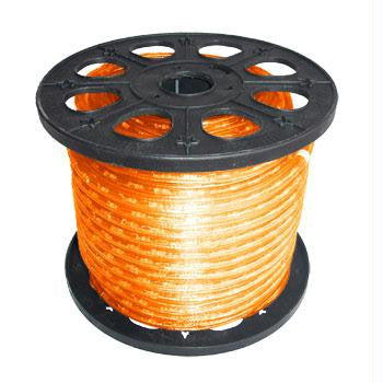 "150' 2-Wire 120-Volt 1-2"" Orange Rope Light Spool"