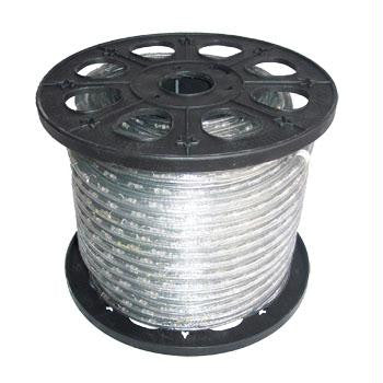 "150' 2-Wire 120-Volt 1-2"" Clear Rope Light Spool 18"""