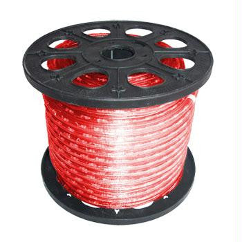 "150' 2-Wire 120-Volt 1-2"" Red Rope Light Spool"