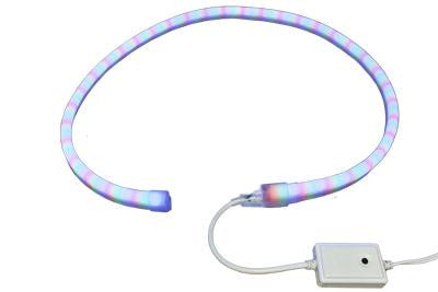 26.1' Pre-Cut LED Neon 4-Wire 120-Volt RGB Rope Light