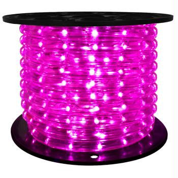 "126.75' LED 2-Wire 120-Volt 1-2"" Purple Rope Light Spool (Vertical)"