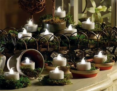 White LED Tea Lights (12 Pack)