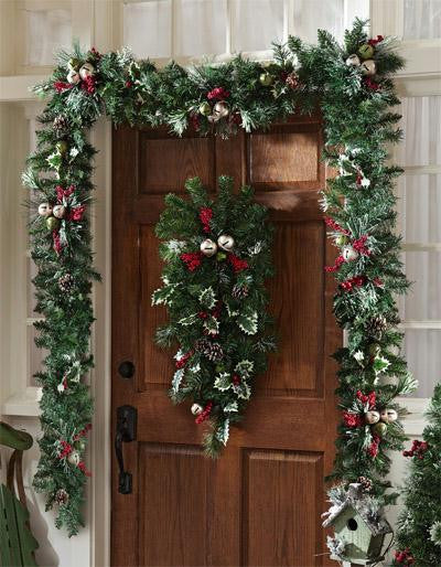 Jingle Bell Christmas Garland