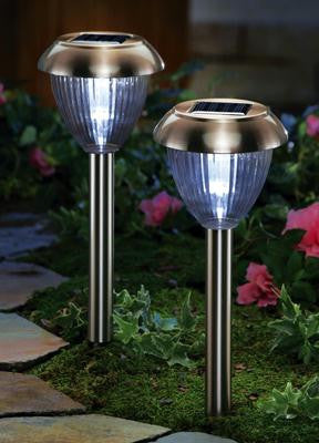 Solar Path Lights - Copper 2pc