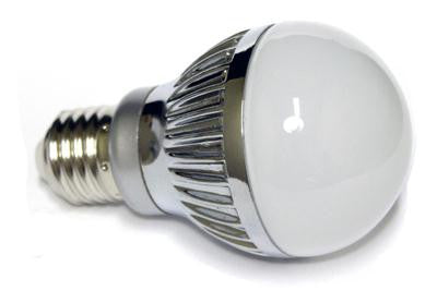 LED Pure White 5W A19 Bulb