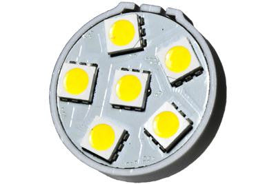 6 LED 12V Warm White G4(Back) Bulb (120 )