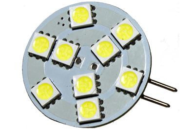 9 LED 12V Cool White G4(Side) Bulb (120 )