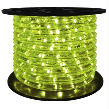 "164' LED 2-Wire 120-Volt 1-2"" Lime Green Rope Light Spool"