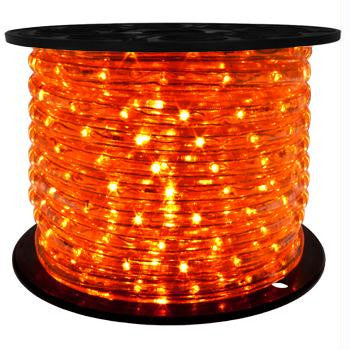 "164' LED 2-Wire 120-Volt 1-2"" Orange Rope Light Spool"