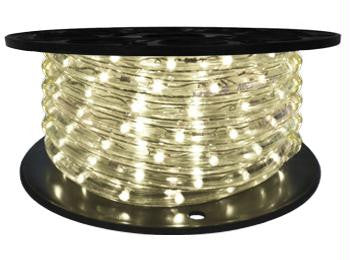 "65' LED 2-Wire 12-Volt 1-2"" Warm White Rope Light Spool (Vertical)"