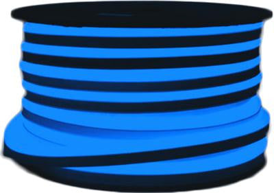 151' LED Neon 2-Wire 120-Volt Blue Rope Light Spool