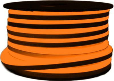 151' LED Neon 2-Wire 120-Volt Orange Rope Light Spool