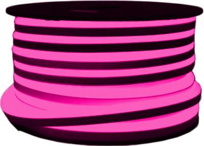 151' LED Neon 2-Wire 120-Volt Pink Rope Light Spool