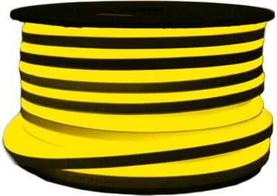 151' LED Neon 2-Wire 120-Volt Yellow Rope Light Spool