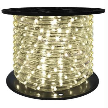 "151' LED 2-Wire 120-Volt 1-2"" Warm White Rope Light Spool (Vertical)"