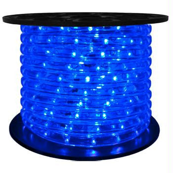 "151' LED 2-Wire 120-Volt 1-2"" Blue Rope Light Spool (Horizontal)"