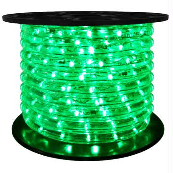 "151' LED 2-Wire 120-Volt 1-2"" Green Rope Light Spool (Horizontal)"