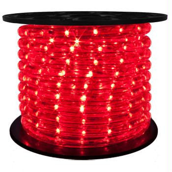 "151' LED 2-Wire 120-Volt 1-2"" Red Rope Light Spool (Horizontal)"