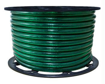 "150' 2-Wire 120-Volt 1-2"" Green Chasing Rope Light Spool"