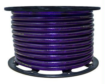 "150' 2-Wire 120-Volt 1-2"" Purple Chasing Rope Light Spool"