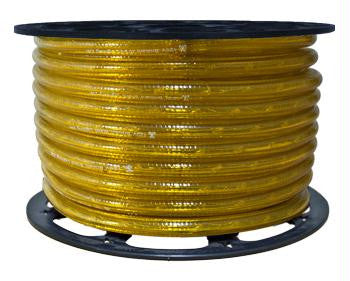 "150' 2-Wire 120-Volt 1-2"" Yellow Chasing Rope Light Spool"