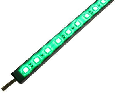 Green 5050 LED Rigid Light Bar