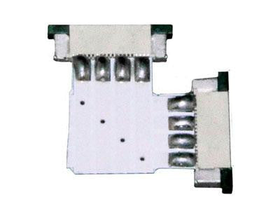 12V Solderless 3528-5050 Strip Light L Connector