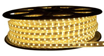 65' 120-Volt Warm White 3528 LED Strip Light Spool