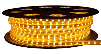 65' 120-Volt Yellow 3528 LED Strip Light Spool