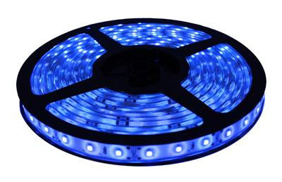 16' 12-Volt Blue 3528 LED Strip Light Spool