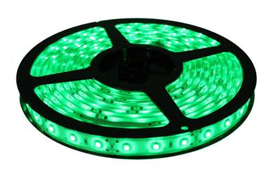 16' 12-Volt Green 3528 LED Strip Light Spool