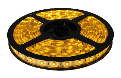 16' 12-Volt Yellow 3528 LED Strip Light Spool