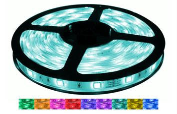 16' 12-Volt RGB 5050 LED Strip Light Spool