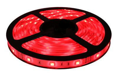 16' 12-Volt Red 5050 LED Strip Light Spool