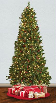 Pre-lit 7.5' Hammond Christmas Tree w- Clear Lights