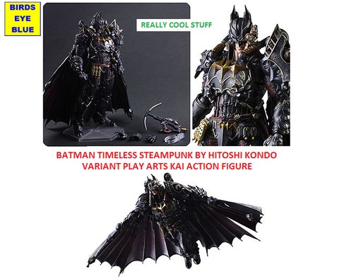 Batman Timeless Steampunk by Hitoshi Kondo Variant Play Arts Kai Action Figure