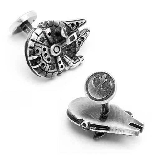 Star Wars Palladium Millennium Falcon Cufflinks