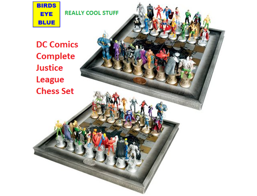 DC Comics Complete Justice League Chess Set