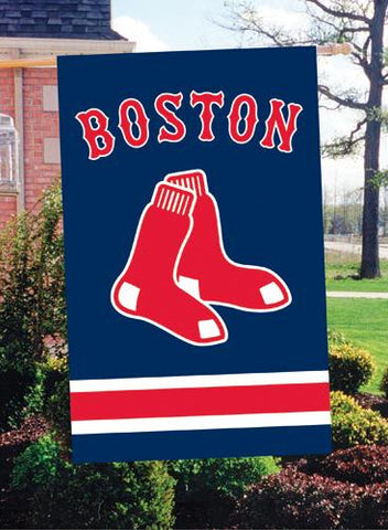 AFBOS Red Sox 44x28 Applique Banner