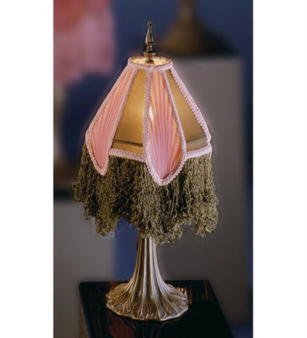 10 Inch Arabesque 10 1-2 Inch Leaf Base Table Lamps