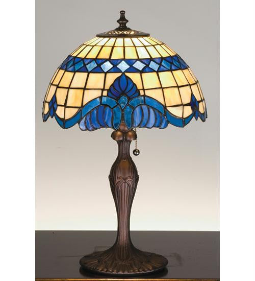 18.5 Inch H Baroque Accent Lamp Table Lamps