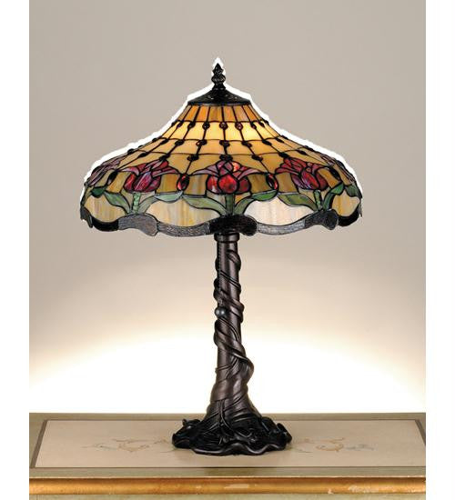 19.5 Inch H Colonial Tulip Table Lamp Table Lamps