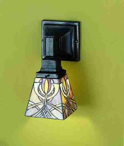 5 Inch W Glasgow Bungalow 1 Lt Wall Sconce Wall Sconces