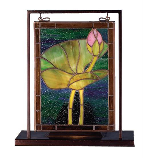 9.5 Inch W X 10.5 Inch H Waterlily Mini Window Windows