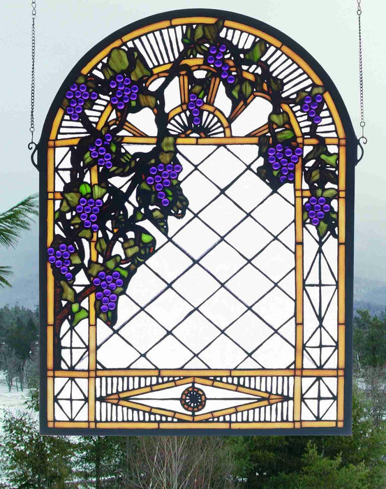 22 Inch W X 30 Inch H Grape Diamond Trellis Window Windows