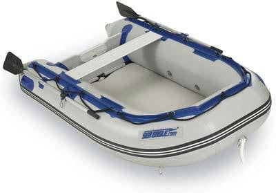 Sea Eagle 8ft 10 Inflatable Yacht Tender Dinghy Incl Pump Oars Bench