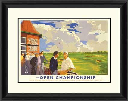 01 British Open Poster