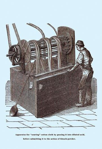 An Apparatus for Souring Cotton 20x30 poster