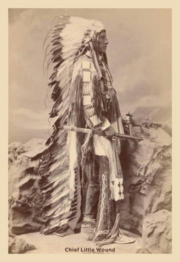 Chief Little Wound 20x30 poster